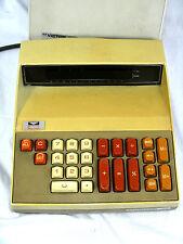 Vintage desk top calculator VICTOR 1900  + hood / Haube  in working condition