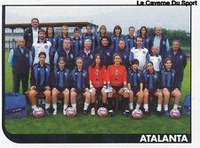 750 SQUADRA ATALANTA ITALIA CALCIO FEMMINILE STICKER CALCIATORI 2006 PANINI