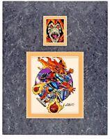 Hobgoblin Original Production Art 1992 Impel card cel Spider Man Halloween comic