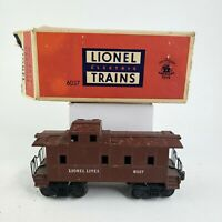 LIONEL Postwar 6017 Brown Caboose, O
