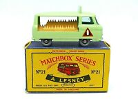 Matchbox Lesney No.21c Commer Milk Float In Type 'C' Series Box (BOTTLE DECALS)