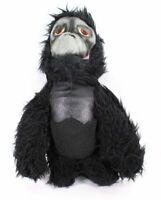 Vintage Animal Fair Gorilla Monkey Plush Stuffed Toy Black