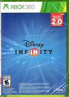 * Microsoft Xbox 360 Disney Infinity 2.0 Game Disc, Art Work, and Case   👾