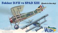 Valom 1/144 Fokker D. VII vs. SPAD XIII-Duel dans le ciel (4 kits en 1 boîte) # 14
