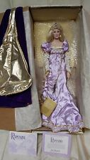 Vintage 1988 Rapunzel porcelain doll still in box with COA
