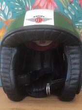 Davida Jet Motorcycle Helmet  Open Face  Retro L 60cm Little Worn.