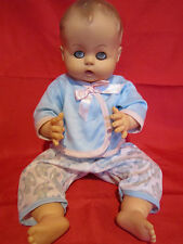 """Vintage 1959 Effanbee Drink and Wet Baby Doll 14"""" tall"""