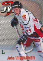 98-99 Finnish Kerailysarja #130 JUHA VIINIKAINEN - JYP HT Jyvaskyla