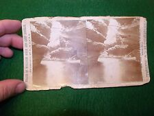 Dalles of Wisconsin & Camp Douglas Stereoview Line of C. St. P., M & O. Railroad