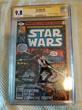 Star wars 28 CGC SS 9.8 Signed by Peter Mayhew Chewbacca 1979 Marvel