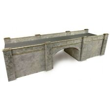 Metcalfe Stone Style Railway Bridge OO Gauge Card Kit PO247