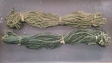 Ex Army Hessian Rope Bundle of 48 in 6ft Lengths c1940's WW2