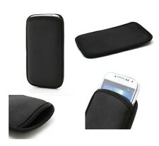 for NOKIA E6 Neoprene Waterproof Slim Carry Bag Soft Pouch Case