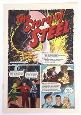 RARE The Story of Steel 1940's Ford Motor Company Comic Book New York University