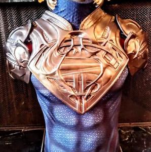 Superman Jor-El Breast Plate full scale