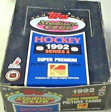 1992-93 Topps Stadium Club Series 2 Hockey Box - 36 Packs Brand New