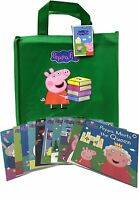 Peppa Pig Series 2 Collection 10 Books Set in a Gift Bag Children Flat Pictures