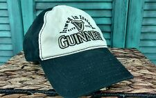 Guinness Draught Beers Adjustable Black Strapback Cap Hat