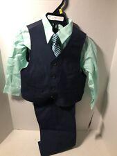 Kenneth Cole Reaction Boys 4 Piece Dress Suit Size 3T