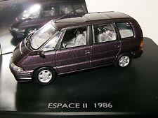 RENAULT Espace 2 / II de 1986 Violet / Violine / Mauve au 1/43