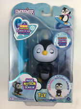 WowWee Fingerlings Baby Penguin - Tux (Black & White) - Interactive Toy