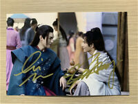 Signed Photo Word of Honor 山河令 JunGong Zhehan Zhang Handsigned Autograph 10*15cm