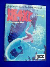 Heavy Metal September 1985.   Corben.