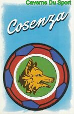 SCUDETTO BADGE LOGO ITALIA COSENZA SERIE B STICKER CALCIO 89 EUROFLASH