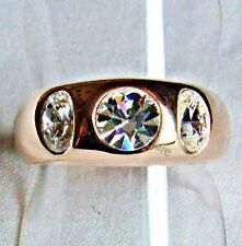 Ovale Modeschmuck-Ringe mit Kristall