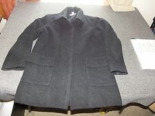 J CREW Wool / Cashmere Blend Dark Gray Coat S Small Womens