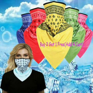 Motorcycle Bicycle Butterfly Bandana Tube Head Scarf Neck Gaiter Face Cover