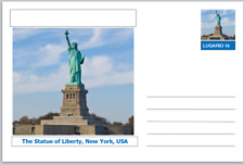 "Landmarks - souvenir postcard (glossy 6""x4""card) - The Statue of Liberty"