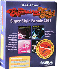 YAMAHA TYROS 5 ENTERTAINER GOLD Entertainer 2016 inkl. Ballroo + Euro Dance