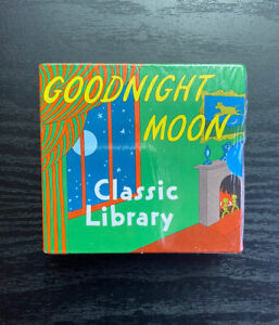 Goodnight Moon Classic Library, also contains The Runaway Bunny & My World NEW