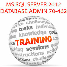 MS SQL SERVER 2012 EXAM 70-462 - Video Training Tutorial DVD