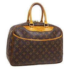 LOUIS VUITTON DEAUVILLE BUSINESS HAND BAG PURSE MONOGRAM VINTAGE M47270 A54096