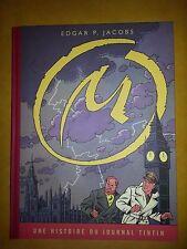 E.P. Jacobs toilé-La Marque Jaune- Edition des planches du journal Tintin-NEUF-