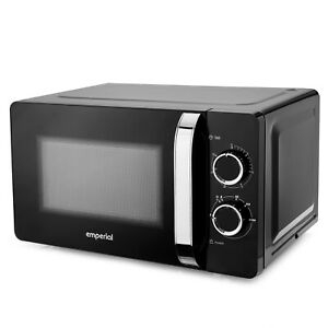 Emperial 20L Solo Microwave Oven with 30 Minute Timer and Defrost Function 700W