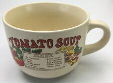 Vintage Soup Cup Mug Tomato Soup