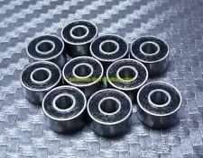 [5 Pcs] MR83-2RS (3x8x3 mm) Rubber Sealed Ball Bearings Bearing MR83RS BLACK