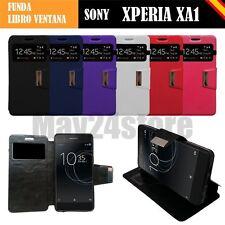 Funda soporte libro ventana Sony Xperia XA1