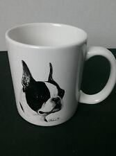 Vladimir Tzenov Boston Terrier 95 special collector's edition Rosalinde mug cup