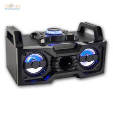 mobile installation son audio avec Bluetooth et LED ''sounbox'' système Compact