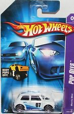 Hotwheels USA POP Offs  mini cooper S, Long card VHTF