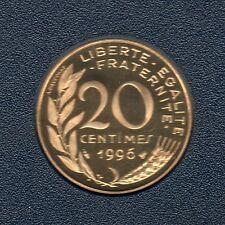 BE - 20 Centimes Marianne 1996 FDC 5 319 Exemplaires Provenant du coffret BE