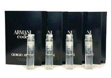 4x ARMANI CODE POUR HOMME Giorgio Armani 0.04oz / 1.2ml Ea EDT Spray Samples New