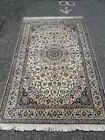 Top quality  Nain Oriental Rug--83 in by 53 in