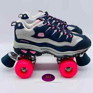 Women's 4-Wheelers by Skechers Energy Roll Quad Style Roller Skates 1910 Size 7