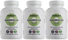 SUPERSPARPACK Magnesiumcitrat 400 mg Magnesium/Tag 540 Kapseln 9-Monatsbedarf