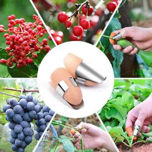 Portable Finger Cover Harvesting Pruning Pick Separator Vegetable Thumb Cut-xd